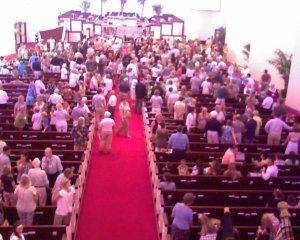 Congregation filing in
